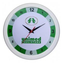 Relógio de Parede Redondo borda fina 30 cm Cód: R6