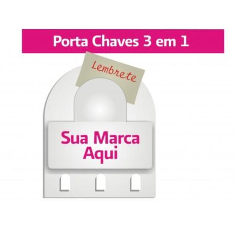 Porta Chaves 3 Ganchos Cód.: PC3