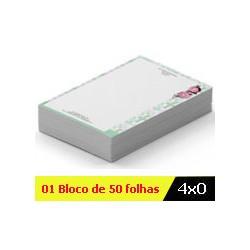 BLOCO DE ANOTAÇÕES 4x0 Cód. BA20