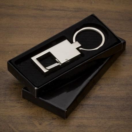 Chaveiro Metal com Couro Código: 11968