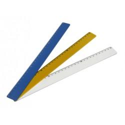 Régua Plástica Tipo Escolar 30 cm