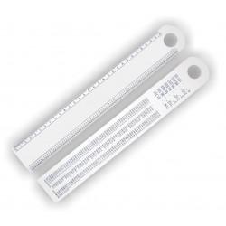 Régua Ferragista 30 cm Código :RF30